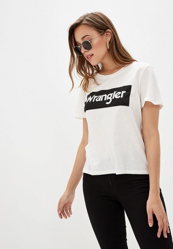 лучшая цена Футболка Wrangler Wrangler WR224EWGMUC3