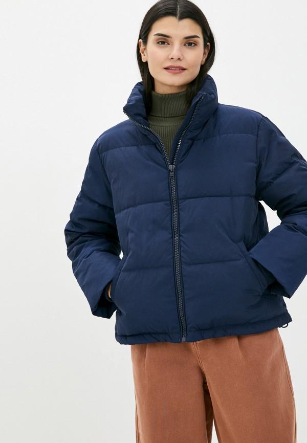 женская куртка wrangler, синяя