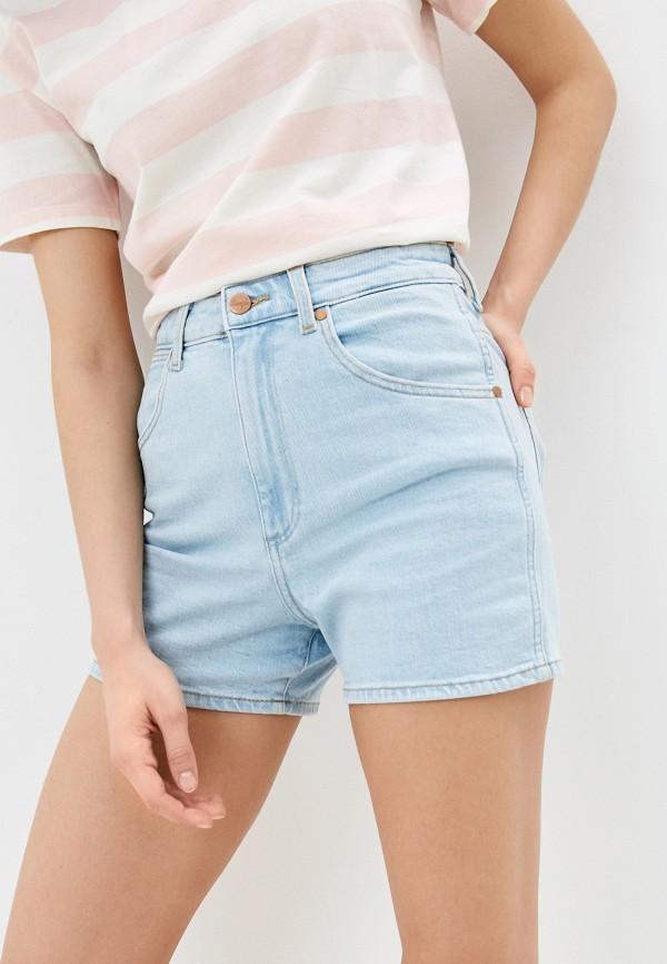 Шорты джинсовые Wrangler Wrangler W22DZH25E голубой фото