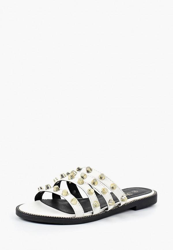 женское сабо ws shoes, белое