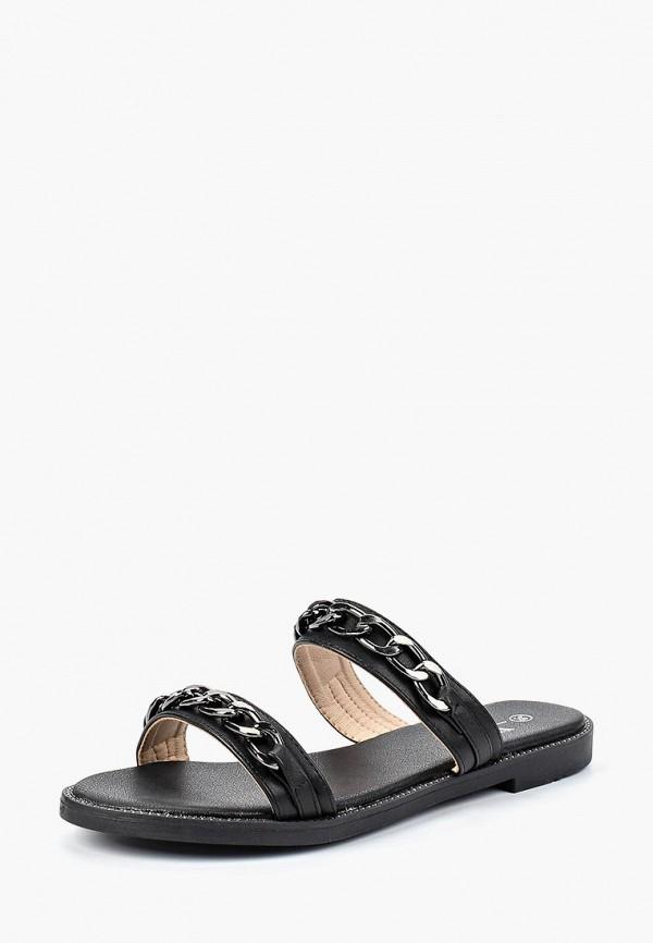 женское сабо ws shoes, черное