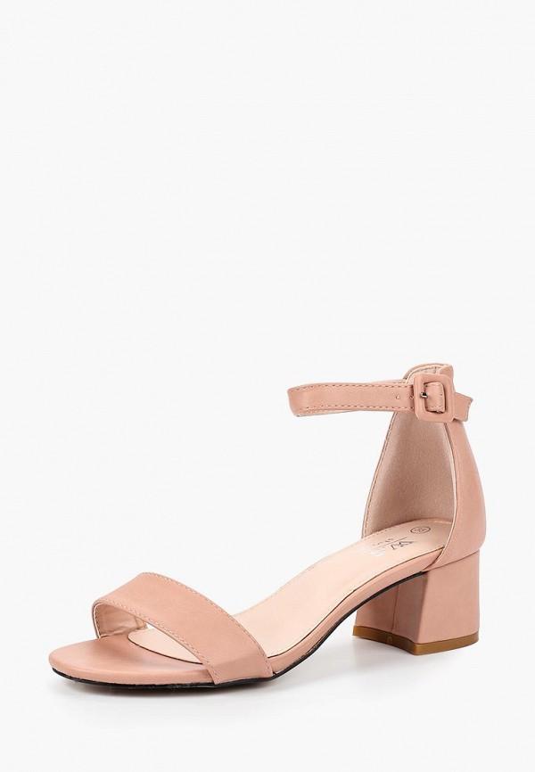 женские босоножки ws shoes, розовые