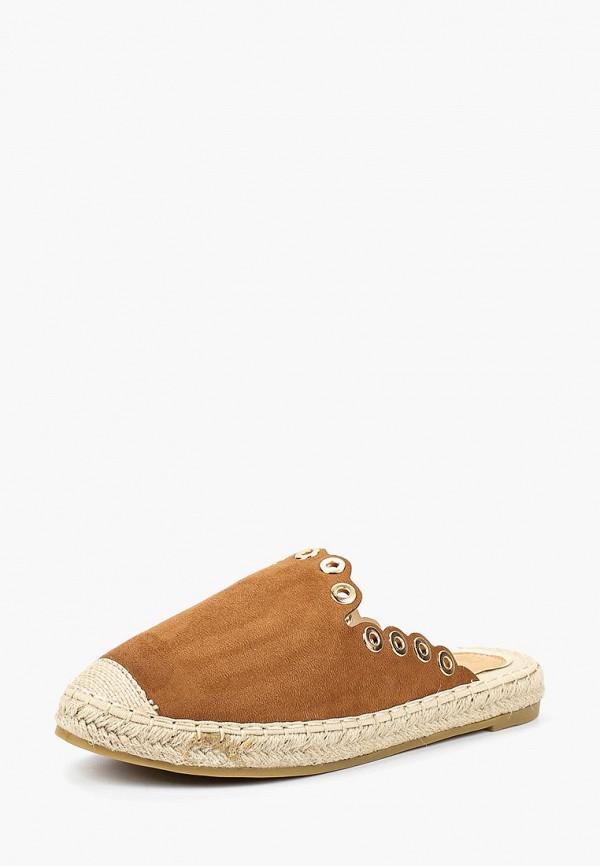 женские эспадрильи ws shoes, коричневые