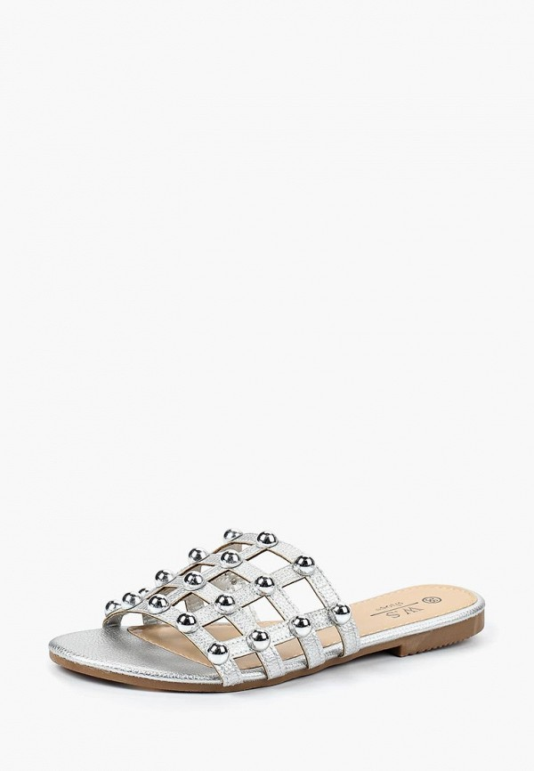 Купить Сабо WS Shoes, ws002awbrjg2, серебряный, Весна-лето 2018