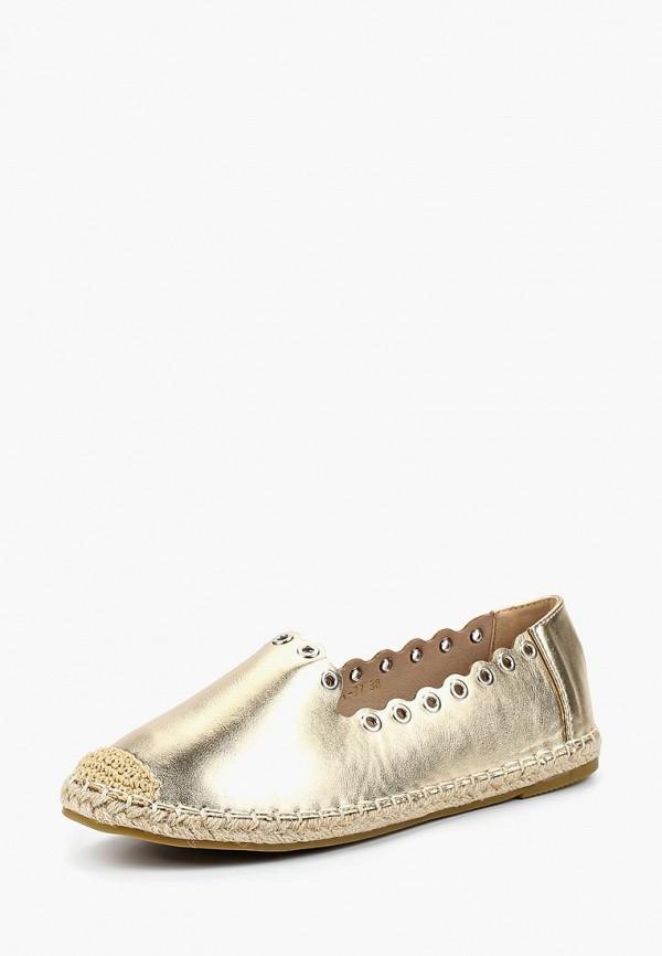 женские эспадрильи ws shoes, золотые
