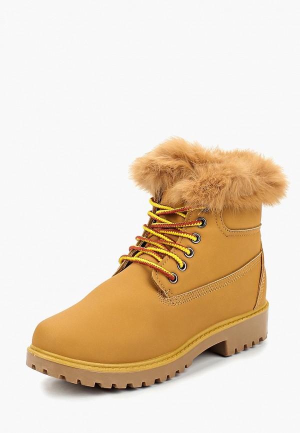 женские ботинки ws shoes, коричневые