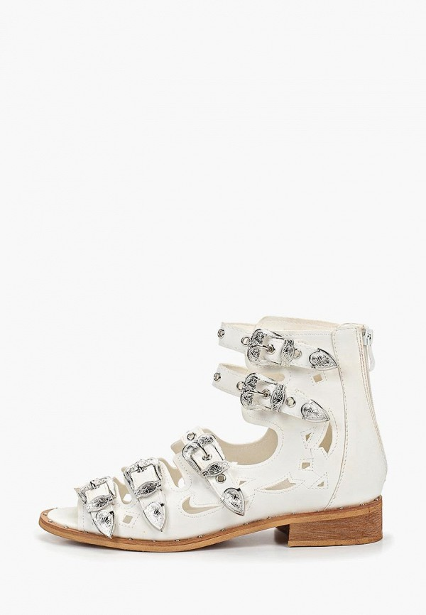 женские сандалии ws shoes, белые