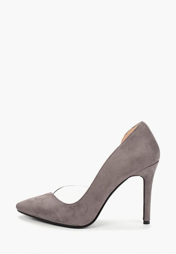 женские туфли ws shoes, серые