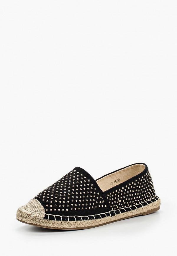 мужские эспадрильи ws shoes, черные