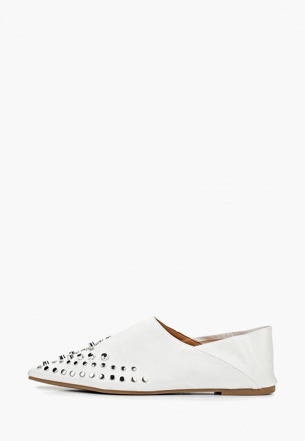 женские балетки ws shoes, белые