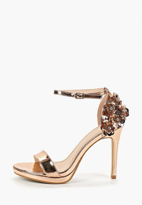женские босоножки ws shoes, золотые