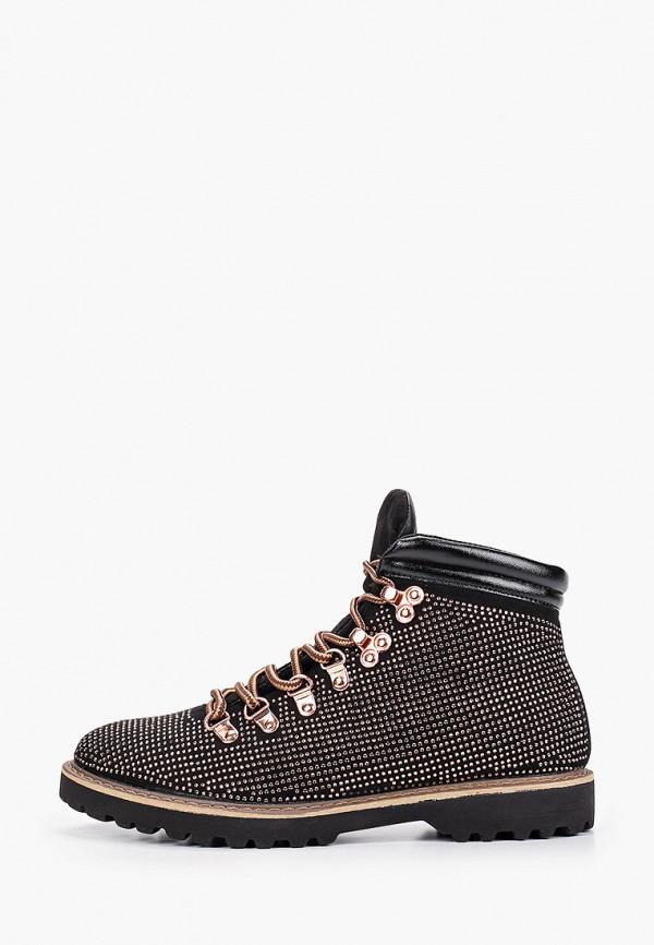 женские ботинки ws shoes, золотые