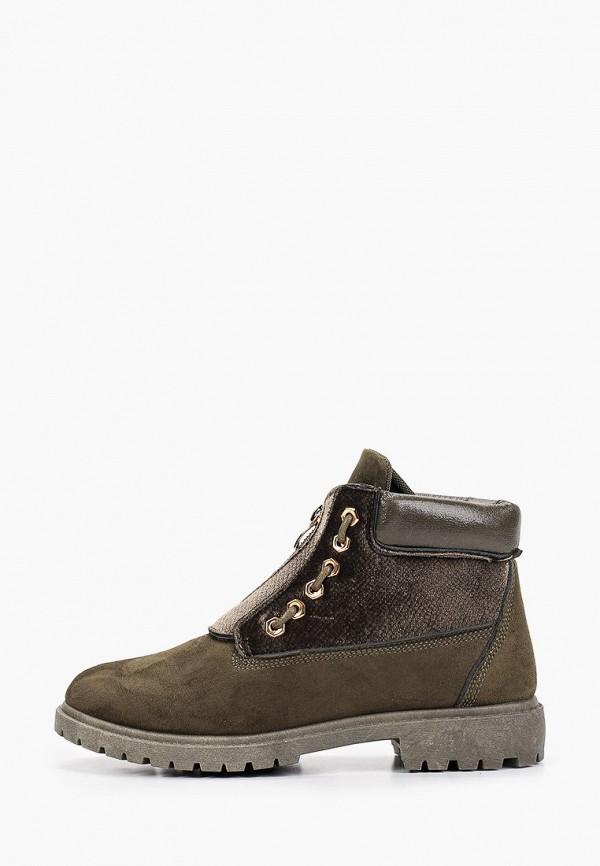 женские ботинки ws shoes, хаки