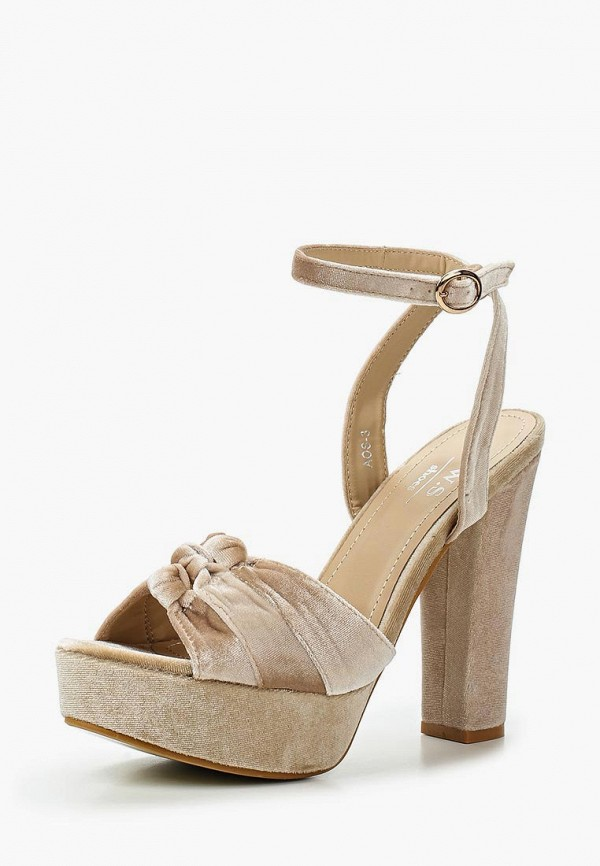Босоножки WS Shoes WS Shoes WS002AWTSH28 ws 78l05 wst78l05 to 92 5v