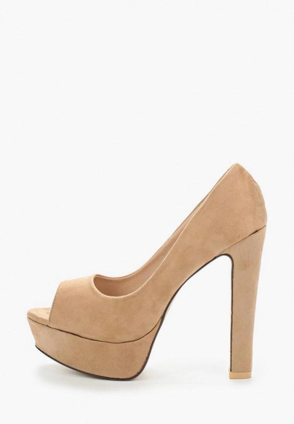 Фото 2 - женские туфли WS Shoes бежевого цвета