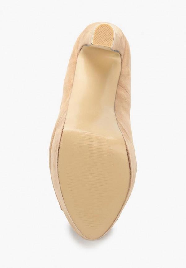 Фото 3 - женские туфли WS Shoes бежевого цвета