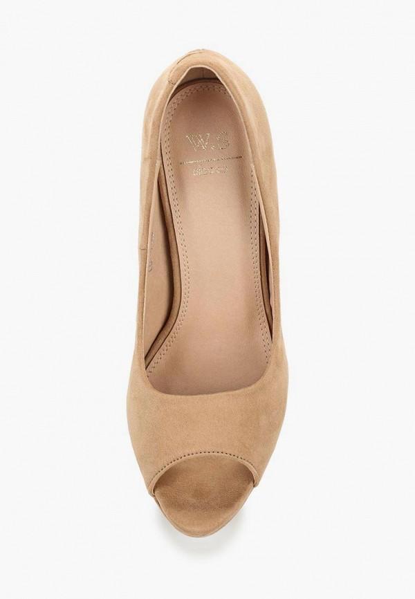 Фото 4 - женские туфли WS Shoes бежевого цвета