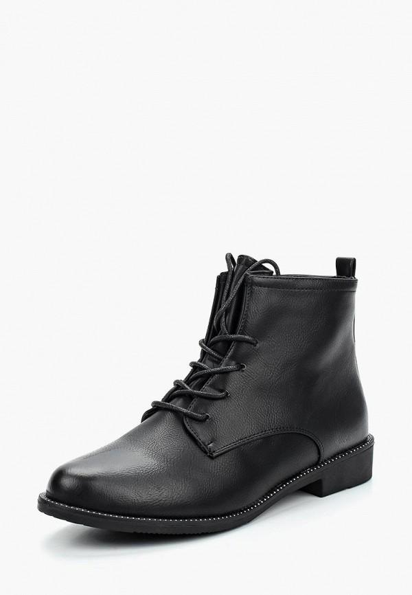 Фото 6 - женские ботинки и полуботинки WS Shoes черного цвета