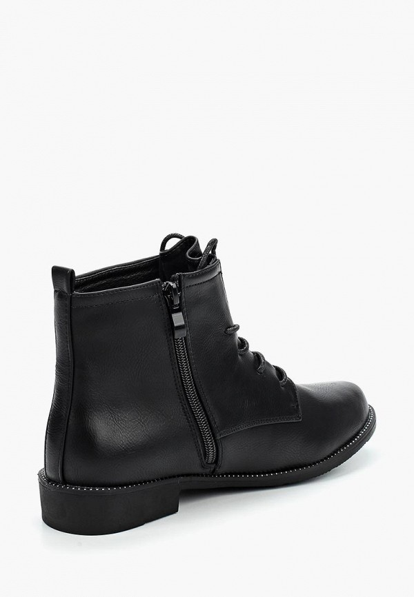 Фото 7 - женские ботинки и полуботинки WS Shoes черного цвета