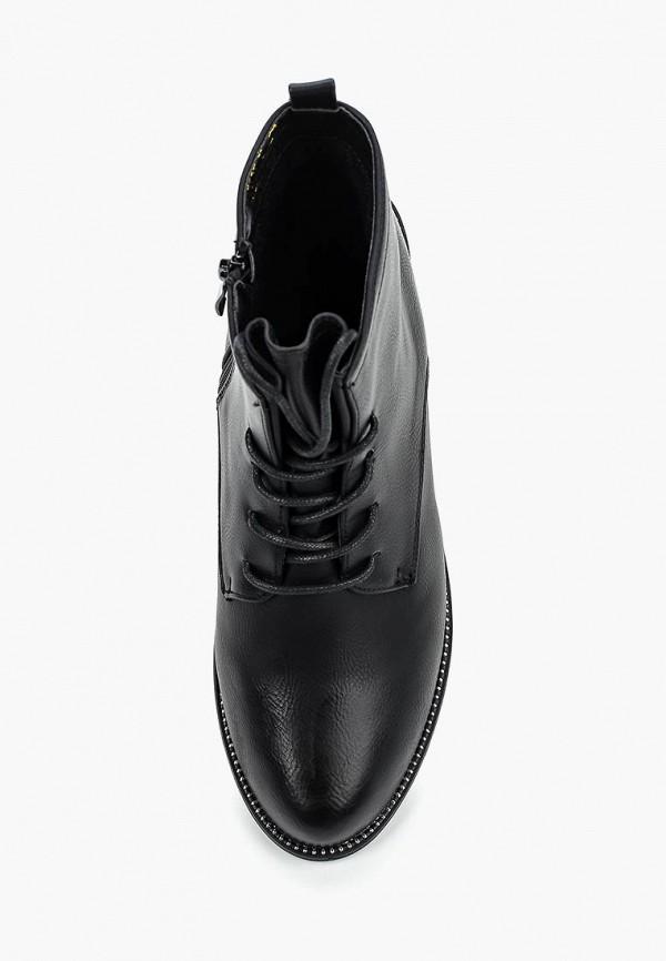 Фото 9 - женские ботинки и полуботинки WS Shoes черного цвета