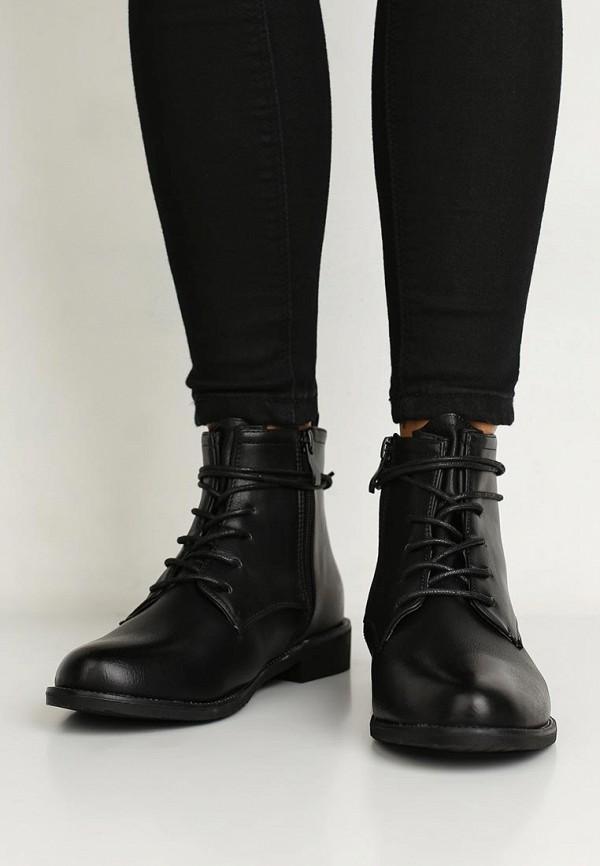 Фото 10 - женские ботинки и полуботинки WS Shoes черного цвета