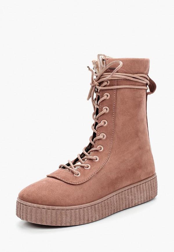 Купить Ботинки WS Shoes, ws002awydv64, розовый, Осень-зима 2017/2018