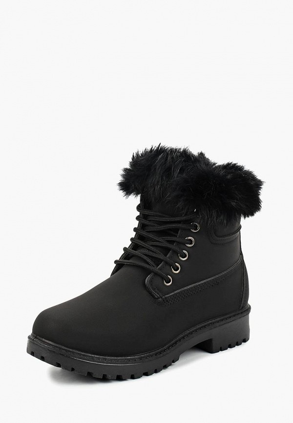 женские ботинки ws shoes, черные