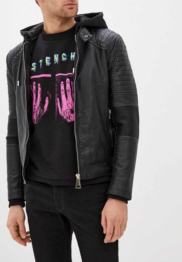 Куртка кожаная X-Feel X-Feel XF001EMHCAH2 стоимость