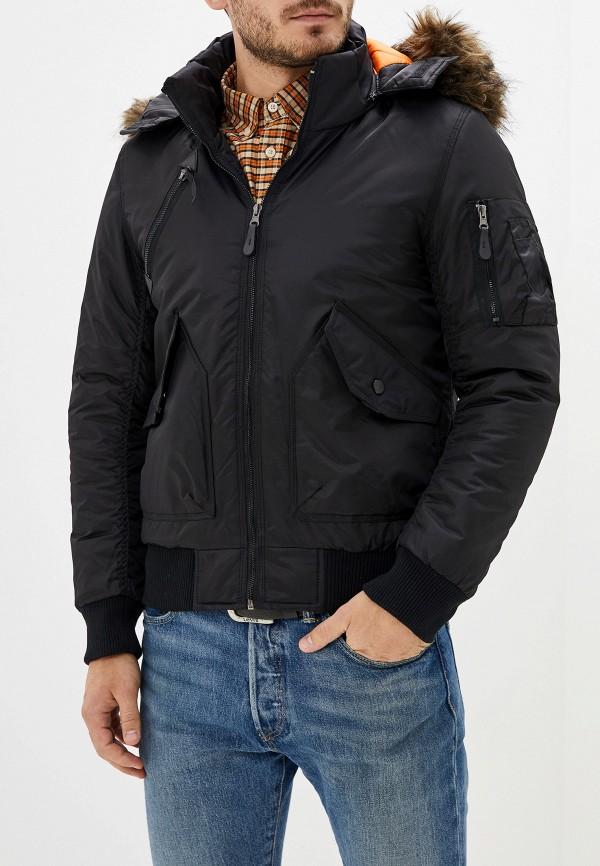 мужская куртка x-feel, черная