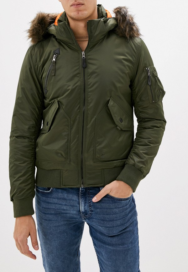 мужская куртка x-feel, зеленая