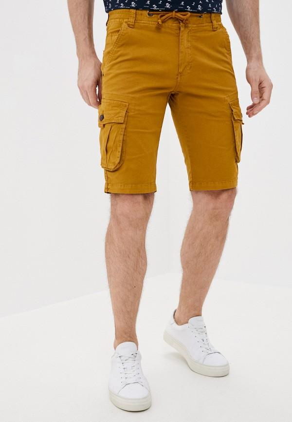 мужские повседневные шорты x-feel, коричневые