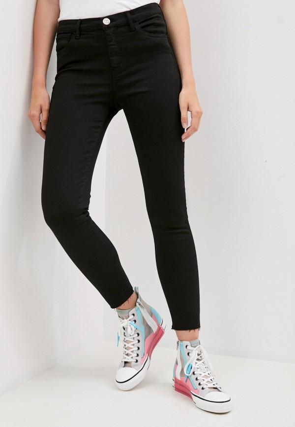 женские джинсы скинни 3x1, черные