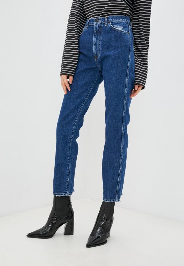 женские джинсы 3x1, синие