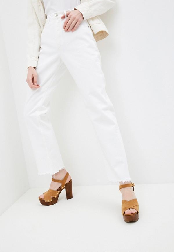 женские прямые джинсы 3x1, белые