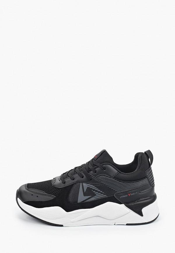 мужские кроссовки x-plode, черные