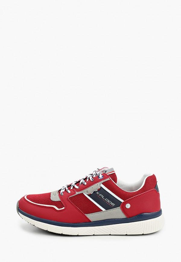 мужские кроссовки x-plode, красные