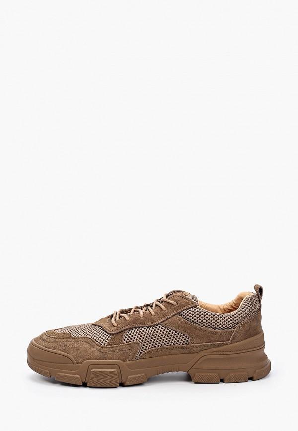 мужские кроссовки x-plode, коричневые
