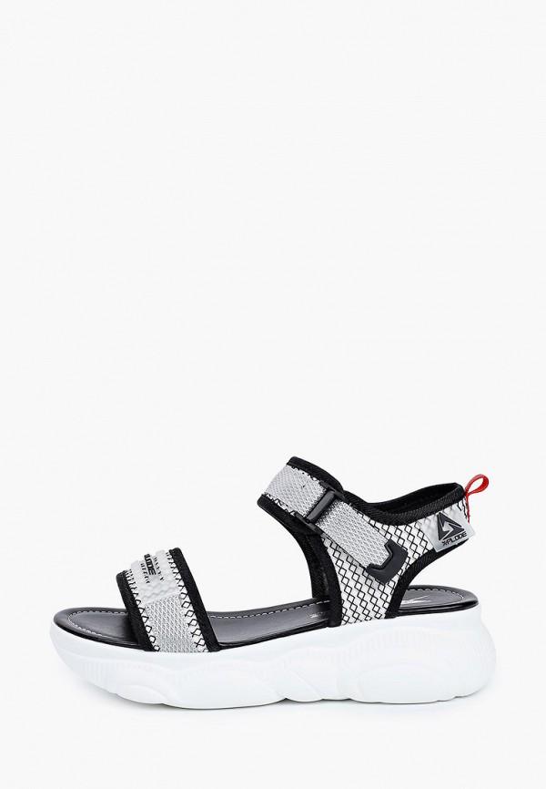 женские сандалии x-plode, серые