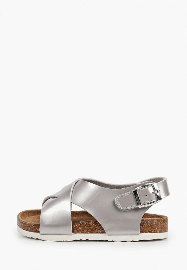 сандалии xti для девочки, серебряные