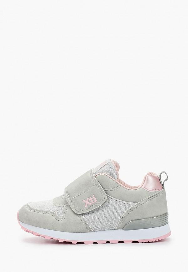 кроссовки xti для девочки, серые