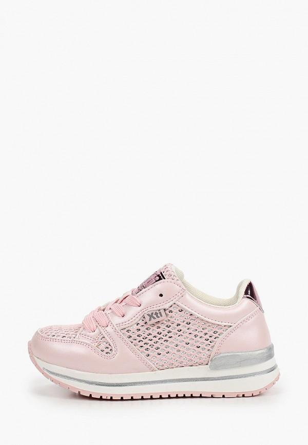 кроссовки xti для девочки, розовые