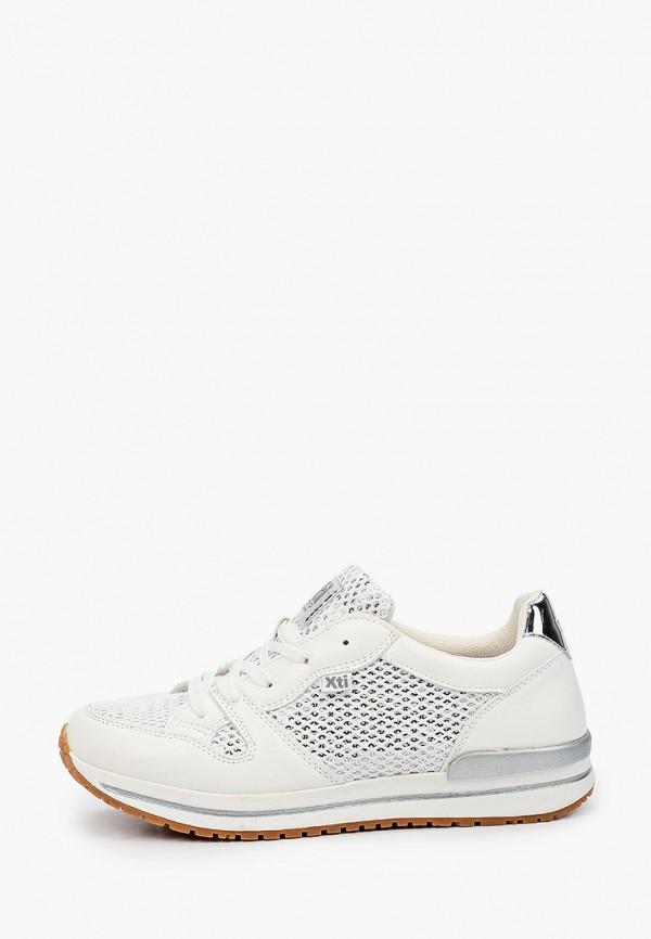 кроссовки xti для девочки, белые