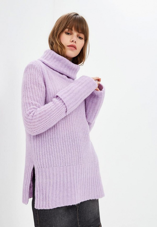Купить Свитер Y.A.S, YA806EWBRJL0, фиолетовый, Осень-зима 2018/2019