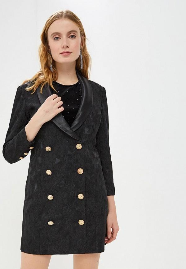 женское платье y.a.s, черное