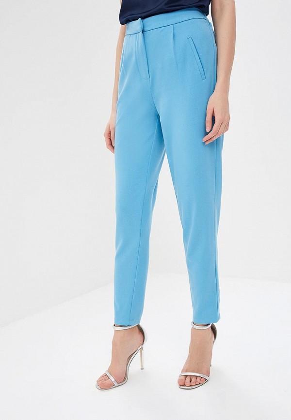 женские повседневные брюки y.a.s, голубые