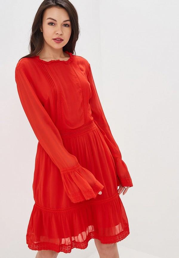 женское вечерние платье y.a.s, красное