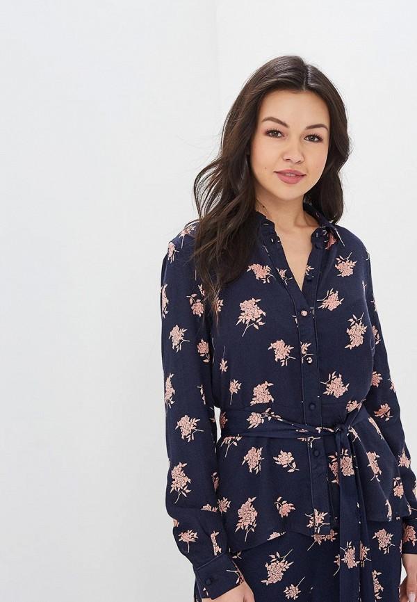 женская блузка y.a.s, синяя