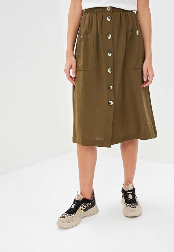 женская юбка y.a.s, хаки