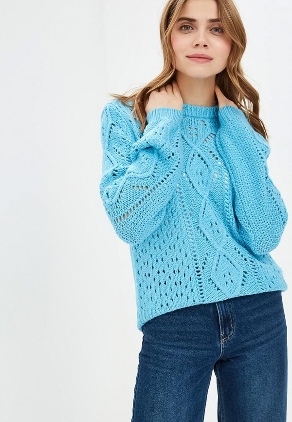 женский свитер y.a.s, голубой