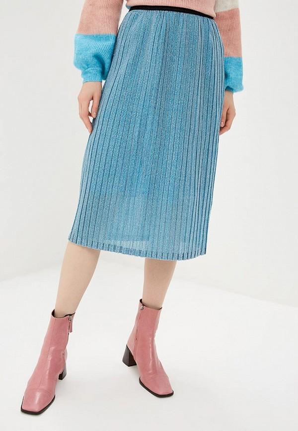 женская юбка y.a.s, голубая